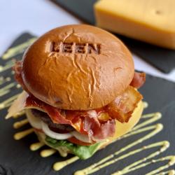 copy of Truffel brie burger...
